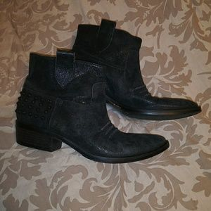 Sesto Meucci Western Style Ankle Boots
